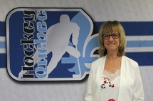 Hockey Québec souligne les 30 années de service de Mme Francine Bouchard