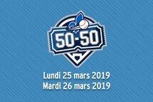 Impliquez-vous lors du moitié-moitié aux matchs des Blue Jays à Montréal!