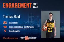 Thomas Huot - Crédit photo - Courtoisie de l'athlète