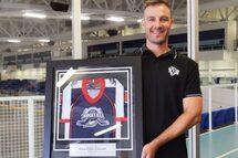 Pierre-Charles Crépeault honoré par la Ligue midget AAA