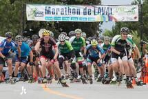 La troisième édition du Marathon roller de Laval aura lieu ce week-end