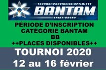 Inscription Bantam BB