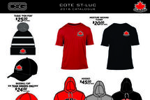 Catalogue de vêtements AHMCSL