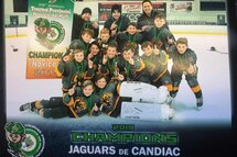 Jaguars Novice A Champions