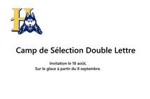 Camps de Sélection Double Lettre