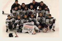 Bravo aux Novice A Ambassadeurs champions de la finale consolation du tournoi de NDG