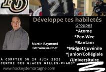 Inscrits au Camp Performance Glace du Noir et Or 2020