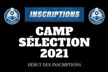 Procédure d'inscription camp 2021