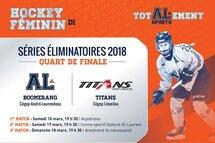Hockey féminin: Les filles passent en quart de finale