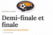 Demi-finale et finale - 14 juillet - Parc Marie-Victorin