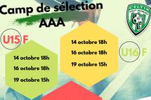 Camps de sélection AAA
