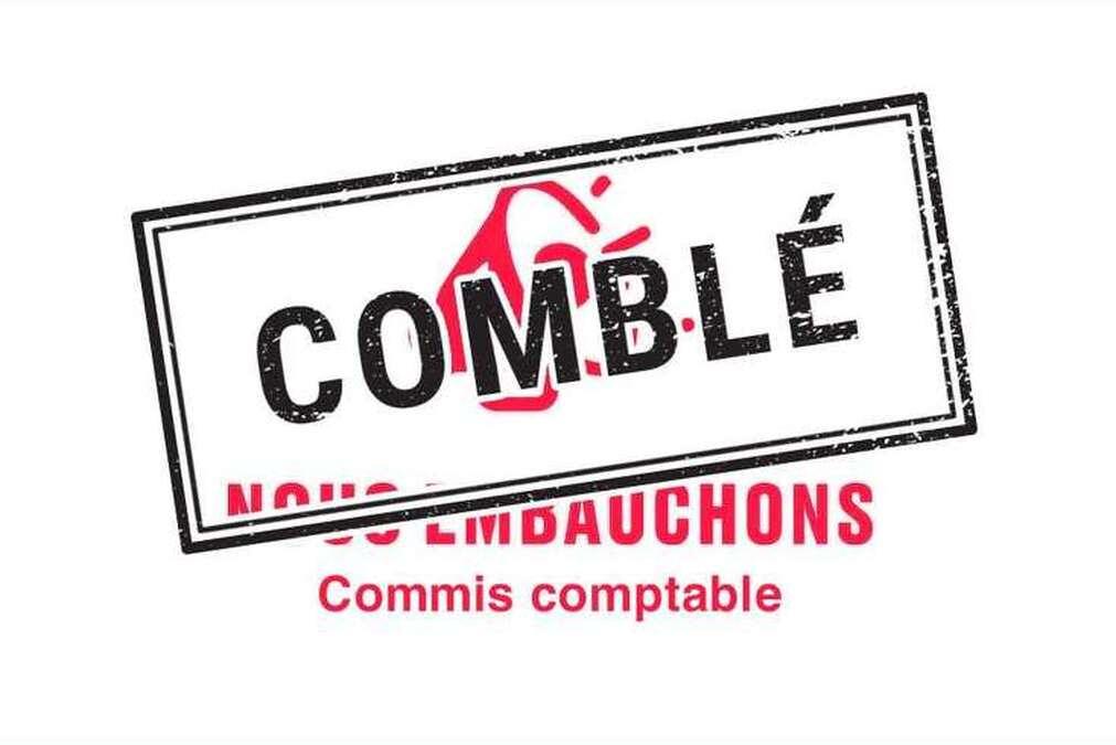 Nous embauchons - Commis comptable à temps partiel