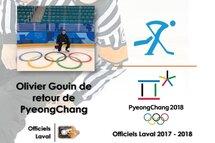 Retour de PyeongChang pour notre Olympien