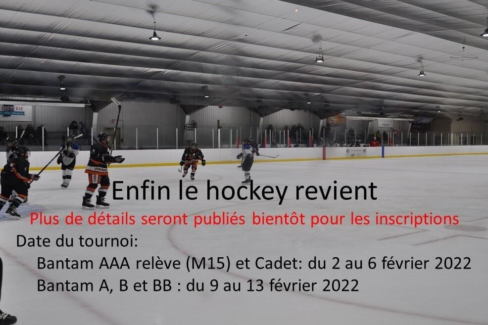 Tournoi hockey Bantam de St-Bruno 2022