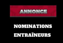 Nomination entraîneurs Pee-Wee BB