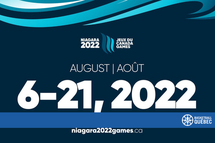 Niagara accueillera les Jeux du Canada d'été du 6 au 21 août 2022