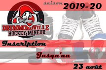 Inscription saison 2019-20