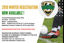 Winter registrations are now available.