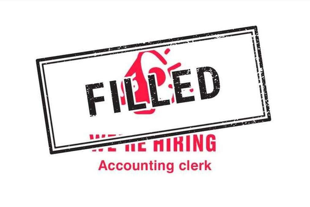 We're hiring - Accounting clerk