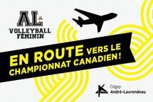 Championnat canadien de volleyball : Le Boomerang enAlberta du 7 au 10 mars