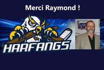 Merci Raymond !