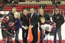 Soirée d'ouverture de la 49e édition du Tournoi de Hockey International Bantam de Granby.