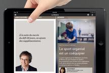 Capture d'écran - La Presse+