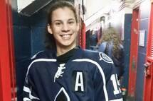 Raphaelle Pouliot a connu une performance de quatre buts pour aider son équipe à remporte la médaille de bronze
