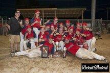 Les Red Sox des Laurentides, médaillés d'or