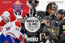 Jour de match | La série entre le Canadien et les Golden Knights s'amorce à Las Vegas
