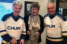 Claude Meunier, Robert Charlebois et Guy Lafleur (Photo: Instagram)