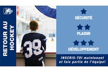 Inscriptions au hockey pour la saison 2020-2021