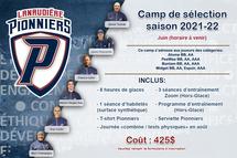 Camp de sélection 2021-2022