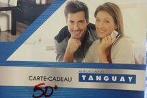 Tournoi - Gagnants Carte cadeau Tanguay  de 50$