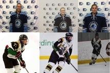 Trois hockeyeuses Gatinoises au camp d'Équipe Québec M18 féminin