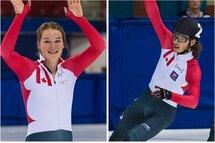 Kim Boutin et Samuel n'ont pas eu à attendre le dernier jour des Sélections olympiques pour officialiser leur première participation aux JO. — Photos Claude Rochon
