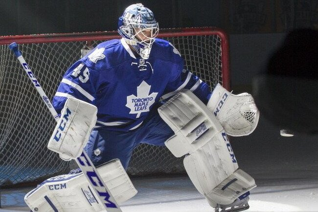 Jonathan Bernier #45 will meet the Hockey Tour winner!