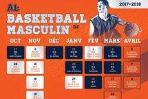 Calendriers basketball masculin et cross-country saison 2017-2018