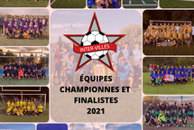 Équipes championnes et finalistes Inter-Villes 2021