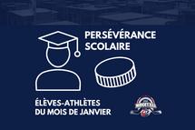 La Ligue midget AAA honore les 15 élèves-athlètes CCM du mois de janvier