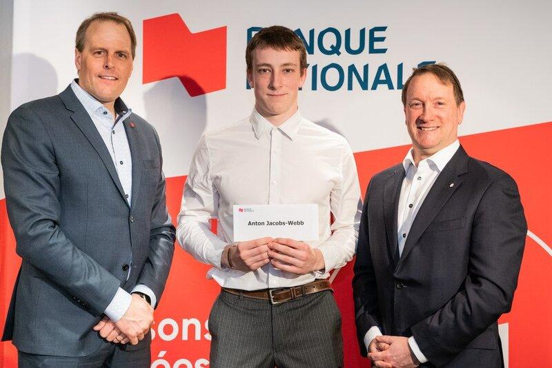 Anton Jacobs-Webb honoré par la Fondation de l'athlète d'excellence