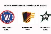 Les Championnes du Défi AAA Laval