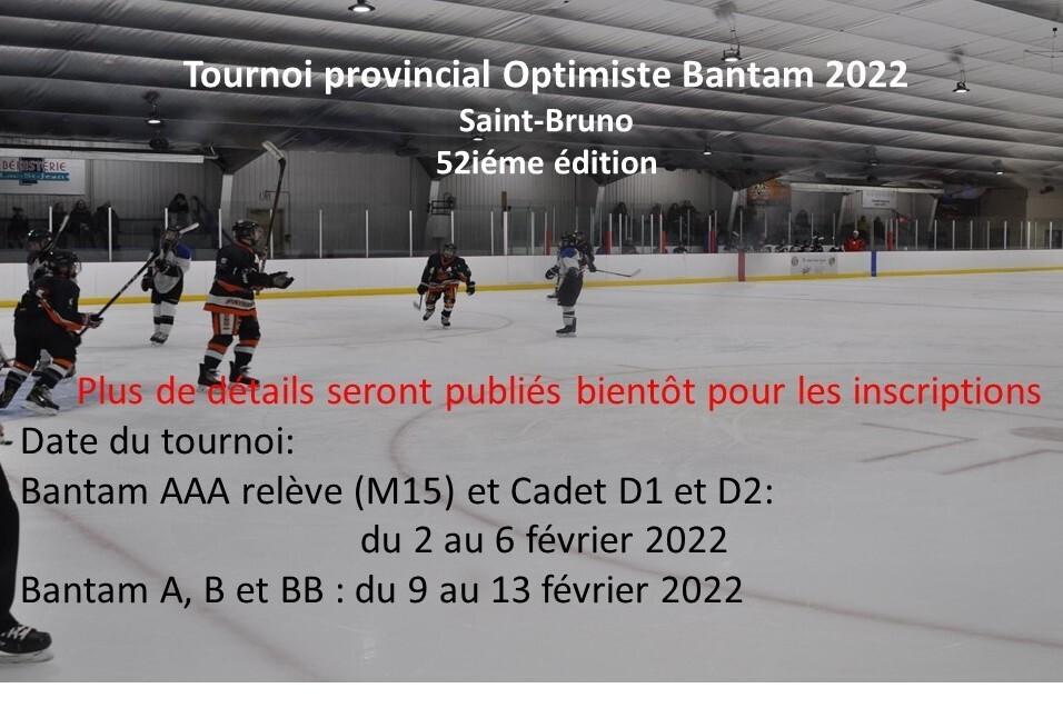 Tournoi Optimiste Bantam 2022