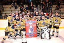 Les Pionniers Pee-Wee B, Champions de la Coupe Montréal !!