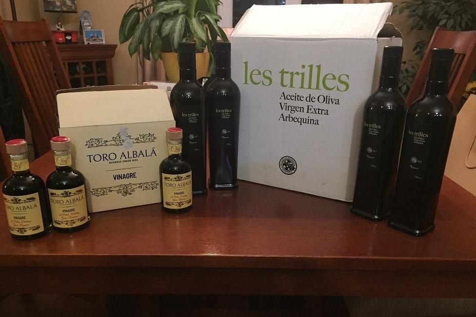 Levée de fonds - Huile d'olive et vinaigre balsamique