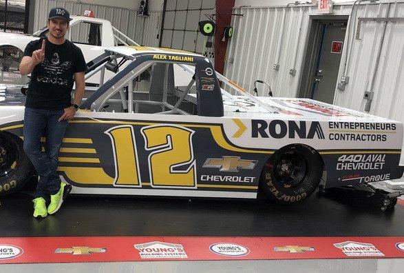 Alex Tagliani à la recherche d'une première victoire NASCAR à Mosport pour réduire l'écart au championnat  Pinty's