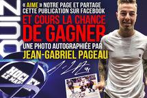 Dernière chance de remporter une photo 8 X 10 autographiée par Jean-Gabriel Pageau