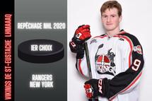 Alexis Lafrenière est devenu le cinquième ancien joueur de la Ligue de hockey midget AAA du Québec choix de première ronde au Repêchage de la LNH.