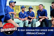 Dites #MerciCoach à la Semaine nationale des entraîneurs
