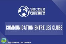 Communication entre les clubs